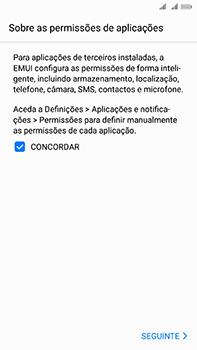 Huawei Mate 10 - Primeiros passos - Como ligar o telemóvel pela primeira vez -  11