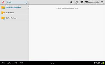 Samsung N8000 Galaxy Note 10-1 - E-mail - envoyer un e-mail - Étape 3