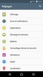 Sony Xperia X Compact - Messagerie vocale - configuration manuelle - Étape 5