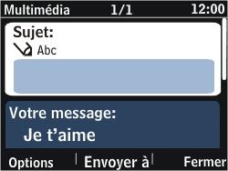 Nokia Asha 302 - MMS - envoi d'images - Étape 11