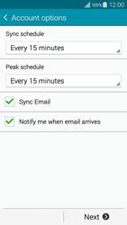 Samsung A300FU Galaxy A3 - E-mail - Manual configuration POP3 with SMTP verification - Step 18