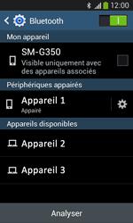 Samsung Galaxy Core Plus - WiFi et Bluetooth - Jumeler votre téléphone avec un accessoire bluetooth - Étape 8