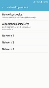 Samsung Galaxy J7 (2016) (J710) - Netwerk - Gebruik in het buitenland - Stap 8
