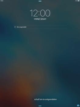 Apple iPad Pro 12.9 (1st gen) - iOS 9 - Device maintenance - Een soft reset uitvoeren - Stap 4