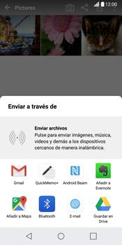 LG G6 - Bluetooth - Transferir archivos a través de Bluetooth - Paso 9