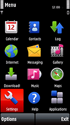 Nokia 5800 Xpress Music - Mms - Manual configuration - Step 3