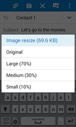 Samsung G388F Galaxy Xcover 3 - E-mail - Sending emails - Step 17