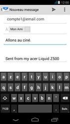 Acer Liquid Z500 - E-mail - envoyer un e-mail - Étape 7