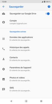 Sony Xperia XZ3 - Données - créer une sauvegarde avec votre compte - Étape 10