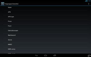 Acer Iconia Tab A3 - Internet - Handmatig instellen - Stap 12