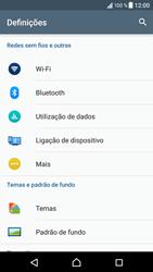 Sony Xperia XZ - Android Nougat - Internet no telemóvel - Configurar ligação à internet -  4