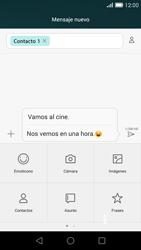 Huawei Ascend G7 - Mensajería - Escribir y enviar un mensaje multimedia - Paso 13