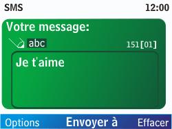 Nokia C3-00 - MMS - envoi d'images - Étape 4