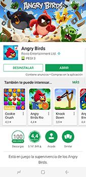 Samsung Galaxy S8 Plus - Aplicaciones - Descargar aplicaciones - Paso 18