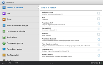 Samsung P7500 Galaxy Tab 10-1 - MMS - Configuration manuelle - Étape 4