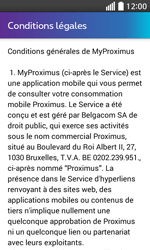 LG L70 - Applications - MyProximus - Étape 11