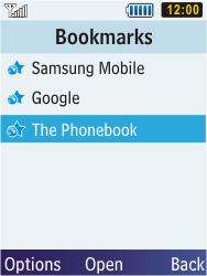 Samsung C3350 Xcover 2 - Internet - Internet browsing - Step 13