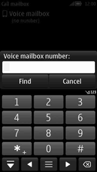 Nokia 808 PureView - Voicemail - Manual configuration - Step 6