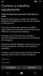 Microsoft Lumia 550 - Primeiros passos - Como ativar seu aparelho - Etapa 11