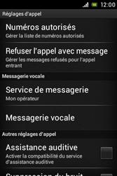 Sony C1505 Xperia E - Messagerie vocale - Configuration manuelle - Étape 5