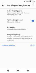 Sony Xperia XZ2 Compact (H8314) - WiFi - Mobiele hotspot instellen - Stap 7