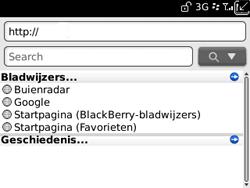 BlackBerry 9300 Curve 3G - Internet - hoe te internetten - Stap 4