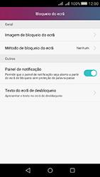 Huawei Y5 II - Segurança - Como ativar o código de bloqueio do ecrã -  4