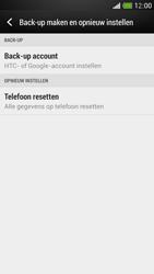 HTC Desire 500 - Toestel reset - terugzetten naar fabrieksinstellingen - Stap 5