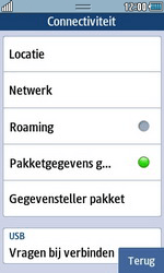 Samsung S7230E Wave TouchWiz - Internet - handmatig instellen - Stap 5
