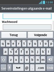 LG E430 Optimus L3 II - E-mail - e-mail instellen: IMAP (aanbevolen) - Stap 20
