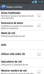 LG Optimus L5 II - Internet - Activar o desactivar la conexión de datos - Paso 8