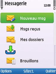 Nokia C5-00 - SMS - configuration manuelle - Étape 4