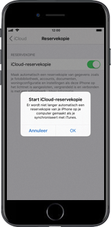 Apple iPhone 7 iOS 11 - Instellingen aanpassen - Back-up maken in je account - Stap 9