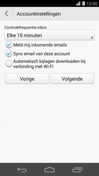 Huawei Ascend P7 - E-mail - Account instellen (IMAP zonder SMTP-verificatie) - Stap 18