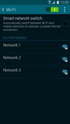 Samsung Galaxy S5 mini - WiFi and Bluetooth - Manual configuration - Step 6