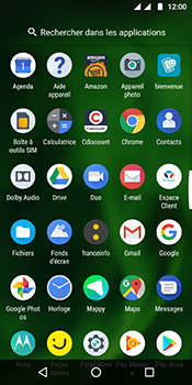 Motorola Moto G6 - Internet et connexion - Naviguer sur internet - Étape 3