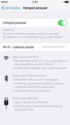 Apple iPhone 6s - Internet no telemóvel - Como partilhar os dados móveis -  8