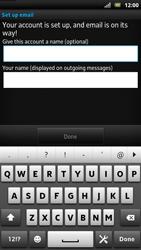 Sony LT22i Xperia P - E-mail - Manual configuration - Step 17