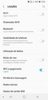 Samsung Galaxy A8 (2018) - Internet no telemóvel - Como ativar os dados móveis -  5