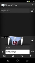 Sony LT30p Xperia T - MMS - afbeeldingen verzenden - Stap 13