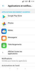 Alcatel 1X - Applications - Supprimer une application - Étape 5