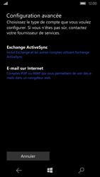 Microsoft Lumia 550 - E-mail - Configuration manuelle - Étape 8