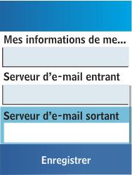 Samsung C3300K - E-mail - Configuration manuelle - Étape 19
