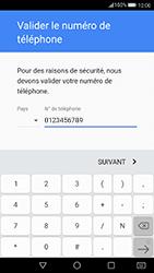 Huawei P10 - Applications - Créer un compte - Étape 7