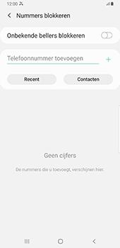 Samsung Galaxy S8+ - Android Pie (SM-G955F) - Beveiliging en ouderlijk toezicht - Nummer blokkeren - Stap 7