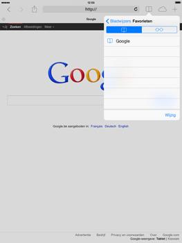 Apple iPad mini iOS 7 - Internet - Hoe te internetten - Stap 9