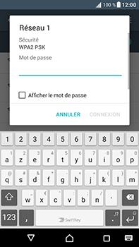 Sony Xperia XA1 Ultra - Internet et connexion - Accéder au réseau Wi-Fi - Étape 7