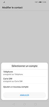 Huawei Mate 20 lite - Contact, Appels, SMS/MMS - Ajouter un contact - Étape 4