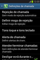 Samsung Galaxy Fame - Chamadas - Como bloquear chamadas de um número -  6