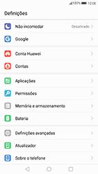 Huawei P8 Lite (2017) - Segurança - Como ativar o código PIN do cartão de telemóvel -  3